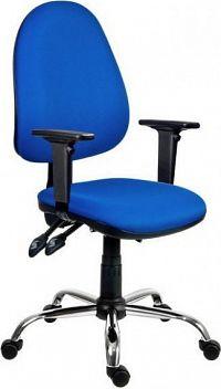 Antares Kancelářská židle 1180 ASYN C - chromovaný kříž