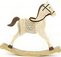 Autronic Dřevěný kůň ZA8603
