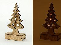 Autronic Dřevěný svítící stromek KLA370