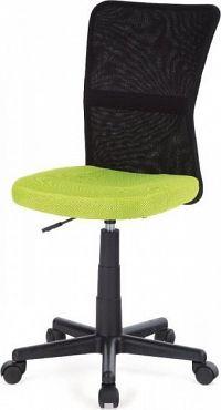 Autronic Kancelářská židle KA-2325 BKW - Černý motiv