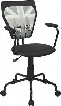 Autronic Kancelářská židle KA-T242 Černá