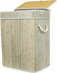 Autronic Koš na prádlo z bambusu KD4425