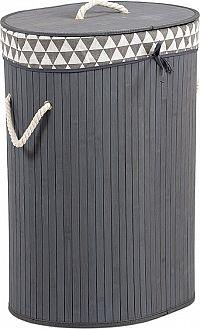 Autronic Koš na prádlo z bambusu KD4427