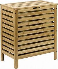Autronic Prádelní koš bambusový DR-014