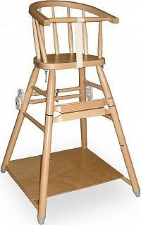 Bernkop Sandra jídelní židlička 331 710 SH - dřevo bez povrch. úpravy
