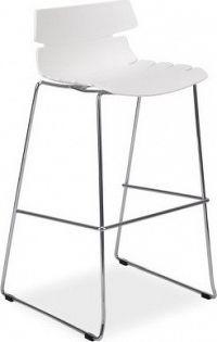 Casarredo Barová židle FERRO H-2 bílá