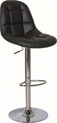 Casarredo Barová židle KROKUS C-198 černá