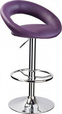 Casarredo Barová židle KROKUS C-300 fialová