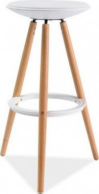 Casarredo Barová židle ROXY buk/bílá