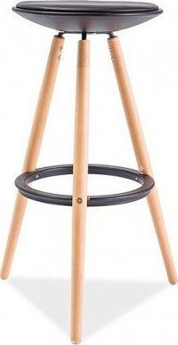 Casarredo Barová židle ROXY buk/černá