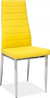 Casarredo Jídelní čalouněná židle H-261 žlutá