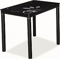 Casarredo Jídelní stůl DAMAR černý