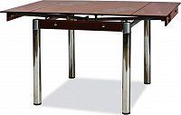 Casarredo Jídelní stůl GD-082 rozkládací hnědý