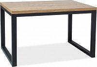 Casarredo Jídelní stůl LORAS II 150x90 dub masiv/černá