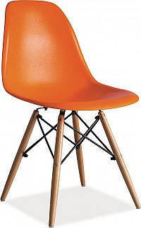 Casarredo Jídelní židle ENZO oranžová
