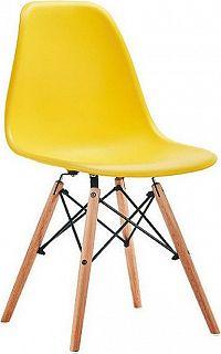 Casarredo Jídelní židle MODENA žlutá
