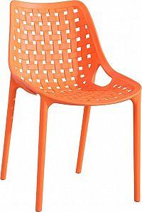 Casarredo Jídelní židle TERY oranžová