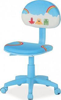 Casarredo Kancelářská židle HOP 2 modrá