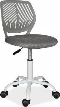 Casarredo Kancelářská židle MAX šedá