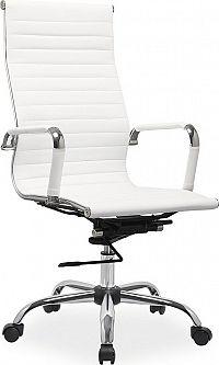 Casarredo Kancelářská židle Q-040 eko bílá