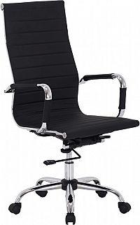 Casarredo Kancelářská židle Q-040 eko černá