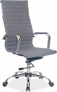 Casarredo Kancelářská židle Q-040 šedá