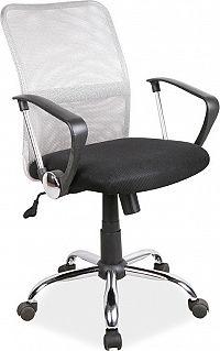 Casarredo Kancelářská židle Q-078 šedá