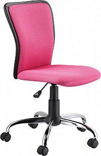 Casarredo Kancelářská židle Q-099 růžová/černá