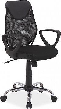 Casarredo Kancelářská židle Q-146 černá