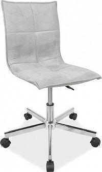 Casarredo Kancelářská židle Q-M2 šedá