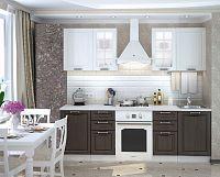 Casarredo Kuchyně PRAGA  - bílá/wenge