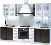 Casarredo Kuchyně PRAGA  II bílá/wenge