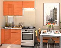 Casarredo Kuchyně TECHNO  - oranžová metalic