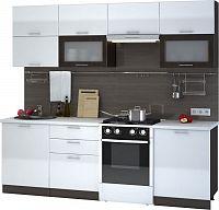 Casarredo Kuchyně VALERIA  - wenge/bílá lesk