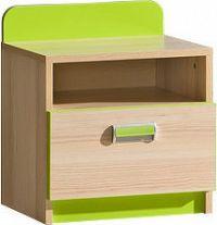 Casarredo LIMO L12 noční stolek zelený