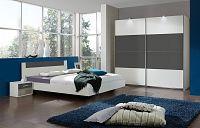 Casarredo Ložnicová sestava ILONA 864+293+698 bílá/grafit