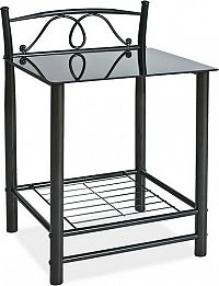 Casarredo Noční stolek ET-920 černý