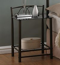 Casarredo Noční stolek VD-930 černý