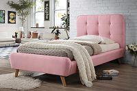 Casarredo Postel TIFFANY 90x200 cm růžová