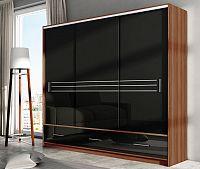 Casarredo Šatní skříň AMSTERDAM 250 černá