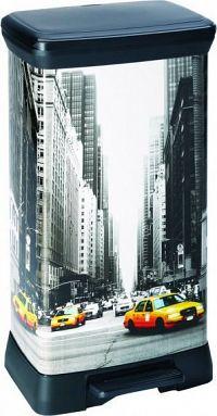 Curver Odpadkový koš DECOBIN 50L - NEW YORK