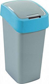Curver Odpadkový koš FLIPBIN 50L - modrý