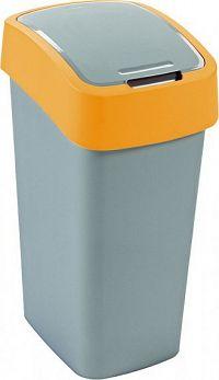 Curver Odpadkový koš FLIPBIN 50L - žlutý