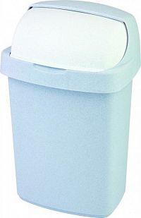 Curver Odpadkový koš ROLL TOP 25L - sv. šedý