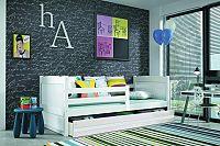 Falco Dětská postel Riky  - bílá