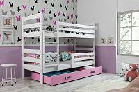 Falco Patrová postel Norbert bílá/růžová