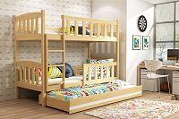 Falco Patrová postel s přistýlkou Kuba borovice
