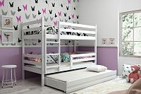Falco Patrová postel s přistýlkou Norbert bílá