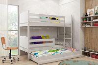 Falco Patrová postel s přistýlkou Tamita bílá