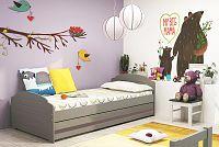 Falco Postel Lizzie 90x200 grafit/pásek grafit